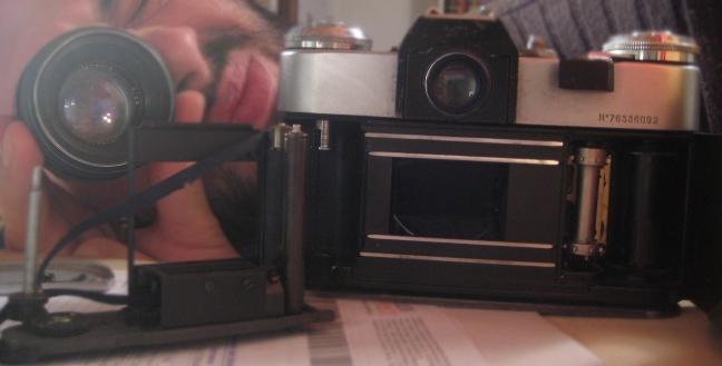 interno di macchina fotografica