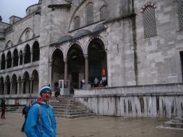 una moschea da fuori
